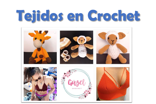 imagen alusiva Tejidos en Crochet